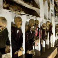 Mummies in the Catacombs