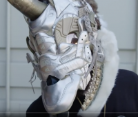 mask made from trainers